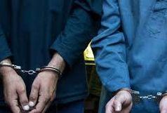 دستگیری دو سارق مسلح حرفه ای در شهرستان دلگان