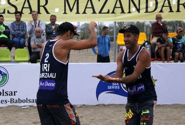 ایران دو قهرمان تور جهانی تک ستاره بابلسر شد