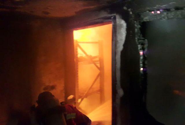 آتش سوزی در خانه کشتی