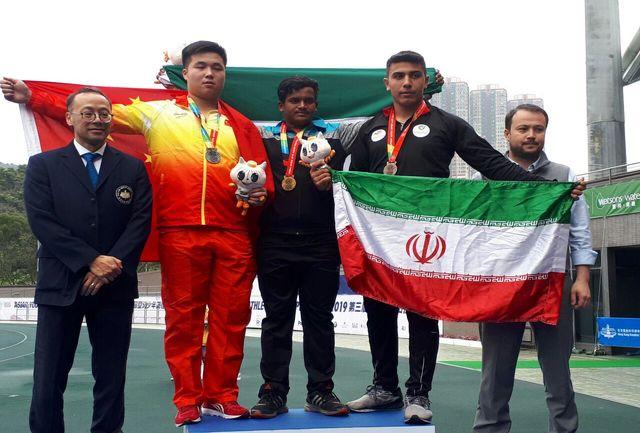 دومین مدال  ایران را  نوری  کسب کرد