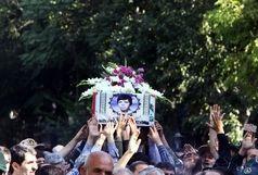 تشییع پیکر شهید «چلویی» در همدان