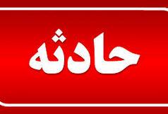 واژگونی  ال ۹۰  در  بزرگراه آقابابایی اصفهان