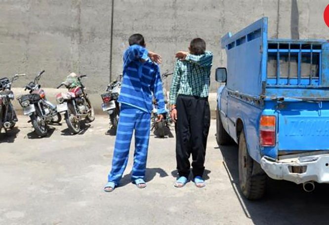 سارق خودرو های نیسان، در نهاوند دستگیر شد