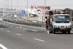 هزار و 626 کیلومتر از راههای استان قزوین خطکشی شد