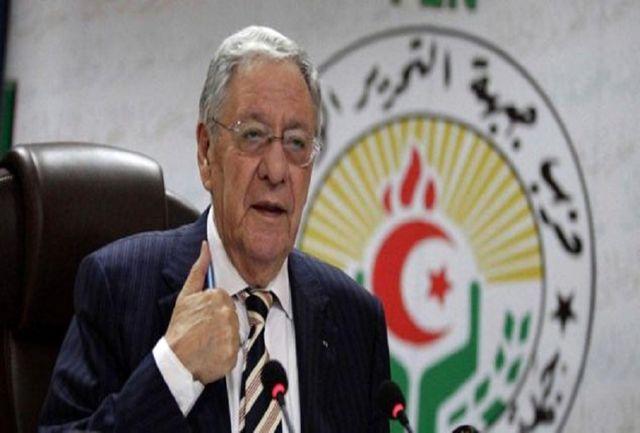 دبیرکل حزب حاکم در الجزایر استعفا کرد