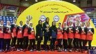نائب قهرمانی دختران کبدیکار گلستانی در دومین المپیاد کشوری
