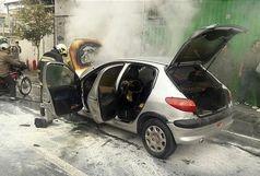 مأمور انتظامی  مانع انفجار خودرو شد