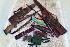 شکارچیان غیرمجاز در مهرستان دستگیر شدند