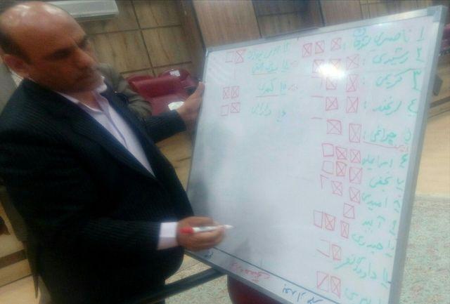انتخابات خانه احزاب استان ایلام برگزار شد