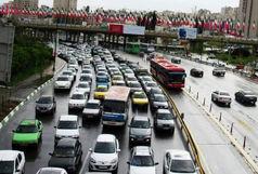 وضعیت ترافیک معابر تهران در صبح یکشنبه