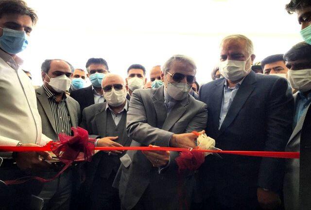 ساختمان فرمانداری نیمروز سیستان و بلوچستان افتتاح شد