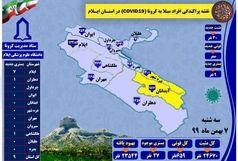 آخرین و جدیدترین آمار کرونایی استان ایلام تا 7 بهمن 99