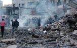 حمله هوایی گسترده اسرائیل در نوار غزه