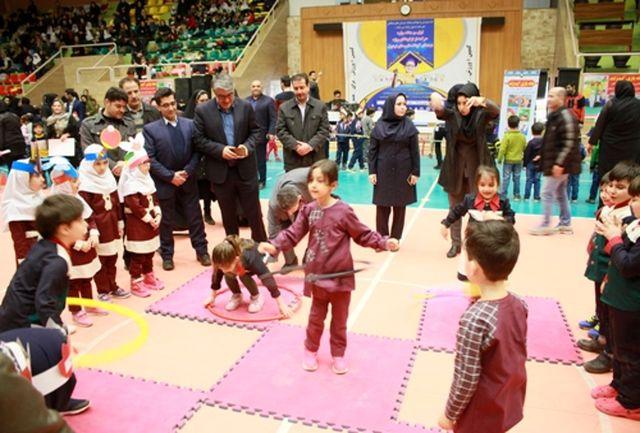 اولین جشنواره حرکت از نو کودکان شهرستان اردبیل