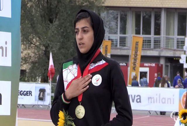 صفرزاده قهدریجانی:  در اولین تجربه  مسابقات پاراآسیایی، 3 مدال گرفتم