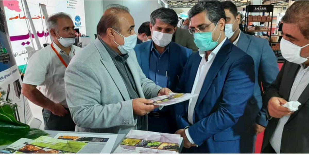 محصولات صنعتی استان قزوین در نمایشگاه اختصاصی اوراسیا عرضه شد