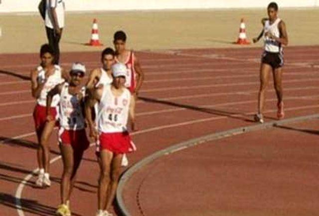 حضور دو و میدانی کار المپیکی همدان در اردوی یک ماهه چین