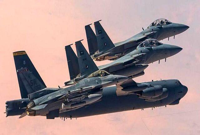 رزمایش هوایی مشترک عربستان و آمریکا