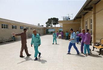 مرکز نگهداری بیماران روانی مزمن در روزهای کرونایی