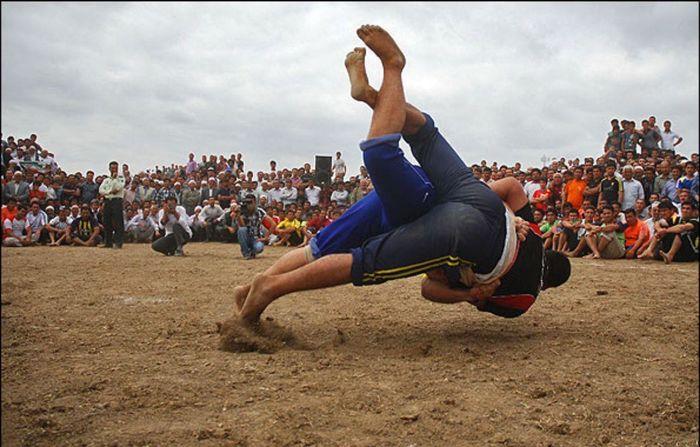 برگزاری مسابقات بین المللی گورش به میزبانی گنبدکاووس