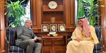 نماینده آمریکا با عادل الجبیر دیدار و گفتگو کرد