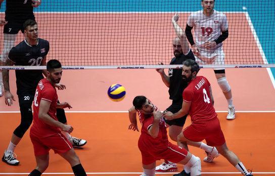 هفته سوم لیگ ملتهای والیبال ۲۰۱۹, ایران - کانادا