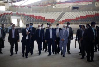 بازدید معاون رییس جمهور از ورزشگاه ۶ هزار نفری شیراز