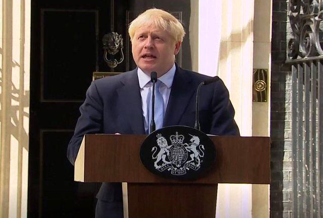 رهبر اپوزیسیون انگلیس خواهان برکناری جانسون شد