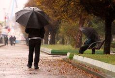 آخر هفته سرد و بارانی در گیلان