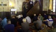 برگزاری مراسم عید فطر در مسجد بایراکلی بلگراد