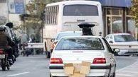 ۲۲۸ هزار خودرو در تهران به علت مخدوشی پلاک جریمه شدند