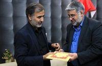 دلجویی رئیس کل دادگستری استان از خانواده شهید یزدی سانحه سقوط هواپیما+ عکس