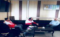 دیدار مدیرعامل جمعیت هلال احمر با رئیس دانشگاه علوم پزشکی هرمزگان