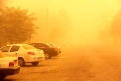 گرد و غبار محلی در آسمان استان همدان تداوم دارد