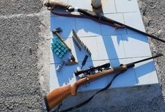 دستگیری گروه حرفهای شکار در منطقه شکار ممنوع کوهمند