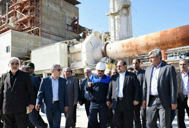بازدید وزیر صنعت ،معدن و تجارت از کارخانه چوکا
