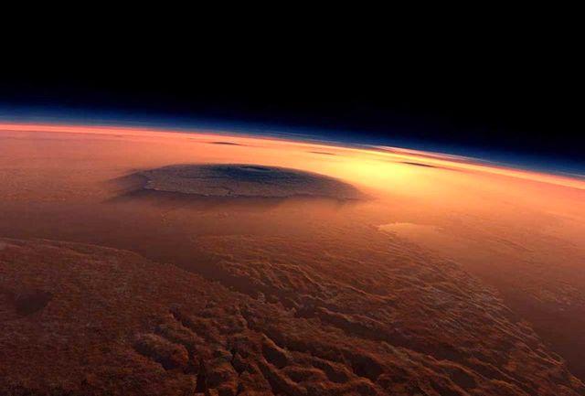 احتمال شکلگیری آب مایع روی مریخ با کمک ابرهای مریخی
