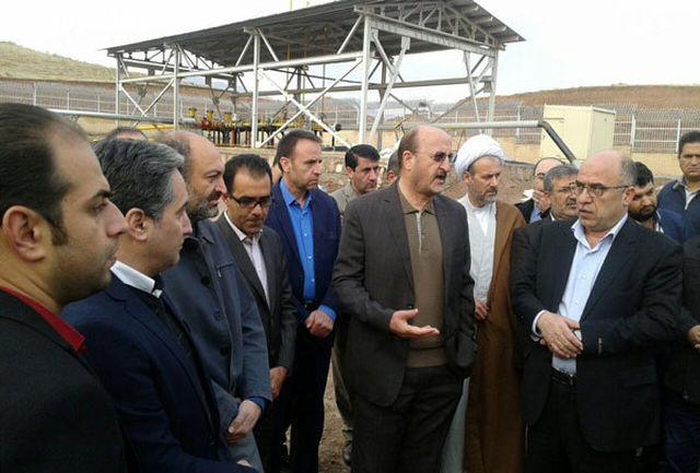 بازدید استاندار قزوین از پروژه های عمرانی الموت غربی