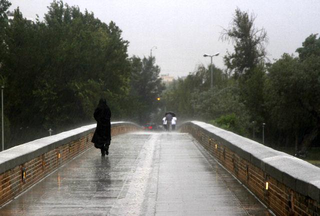 بارش باران تا چهارشنبه در قم ادامه دارد
