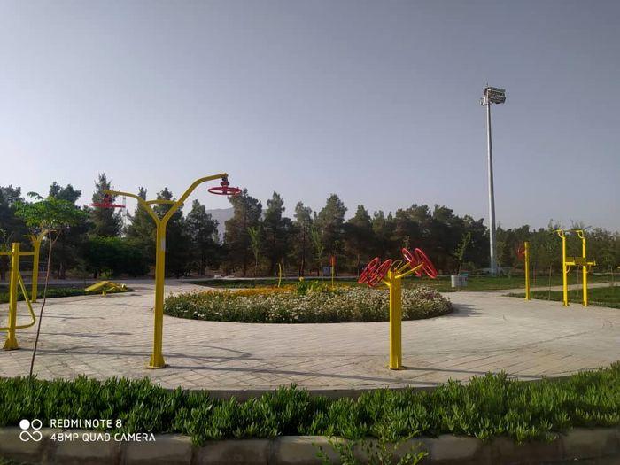 افزایش فضای سبز اصفهان با اضافه شدن دو پارک جدید