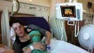 دختری که میمیرد و زنده میشود + عکس