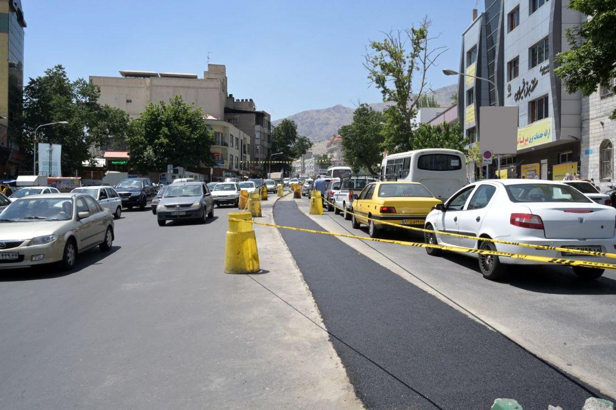 حذف پارک حاشیهای خیابان شهرداری با نصب دوربینهای ثبت تخلف