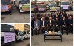 اهدا تجهیزات ورزشی به شهرداریهای خوزستان با حضور وزیر ورزش و جوانان