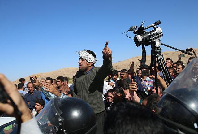 تفاوت دو رییس جمهوری؛ احمدینژاد در ورزقان، روحانی در سرپل ذهاب