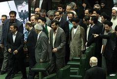 وقتی کت احمدینژاد برای نمایندگان متبرک بود!