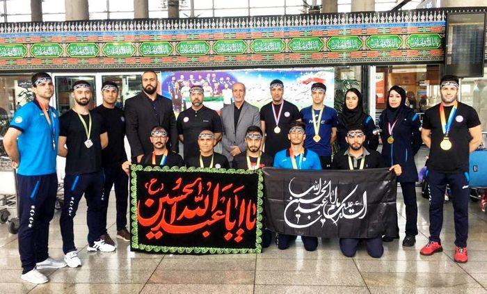 تیمملی ساواته ایران به میهن اسلامی بازگشت