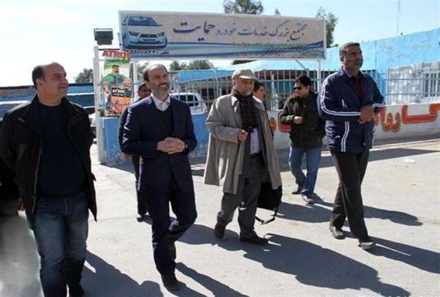 رئیس اداره خدمات وزارت بهداشت از زندان زاهدان بازدید کرد