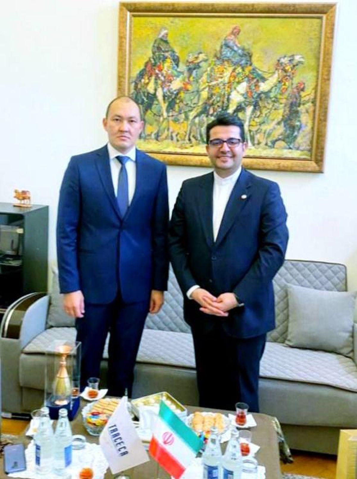 سفیر ایران در جمهوری آذربایجان با دبیرکل تراسیکا دیدار کرد