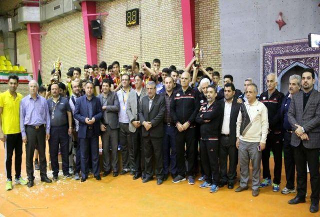 البرز قهرمان مسابقات استعدادهای برتر والیبال کشور شد