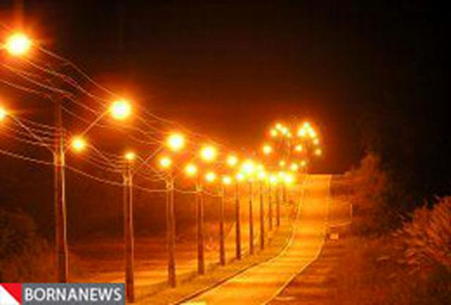 بیش از 3/5 کیلومتر شبکه روشنایی در بوستان ملی باراجین قزوین احداث شد